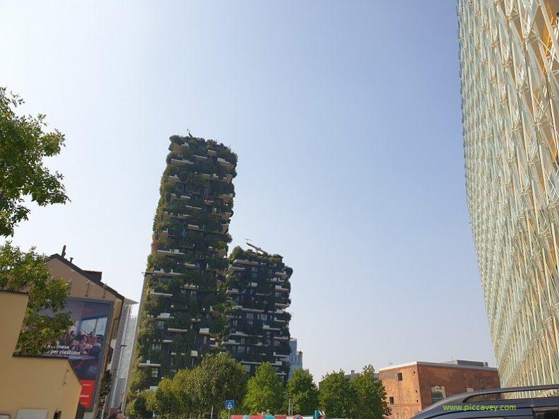 Bosco Verticale Milan Italy Vertical Garden