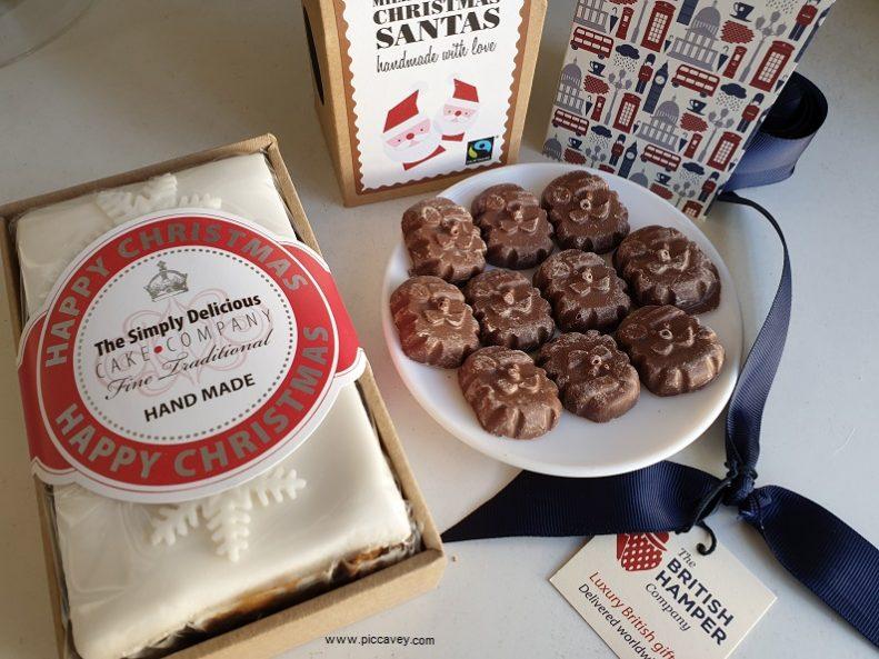 British Hamper Christmas Food Gift