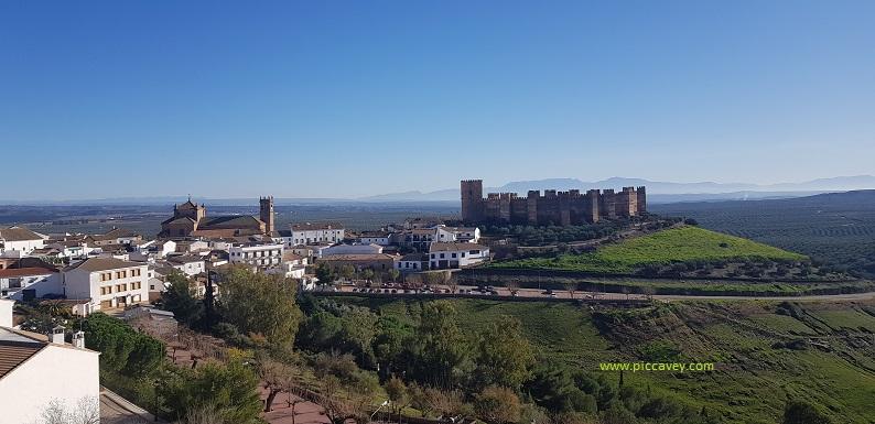 Burgalimar Baños de la Encina Castles in Spain