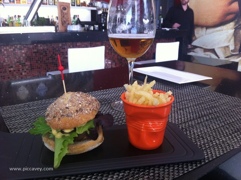 Mini Hamburger in Granada