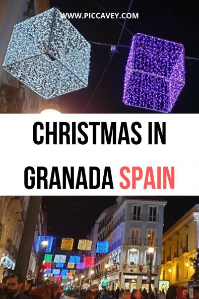 Christmas in Granada Spain