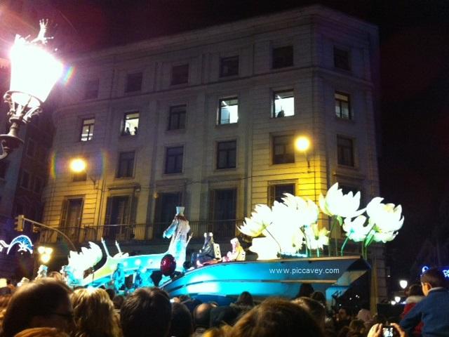 Cabalgata Reyes Barcelona Kings 5th Jan
