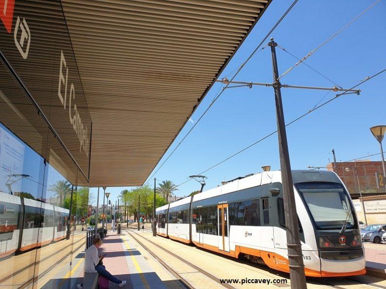 ElCampello Alicante Spain Blog Tram Train