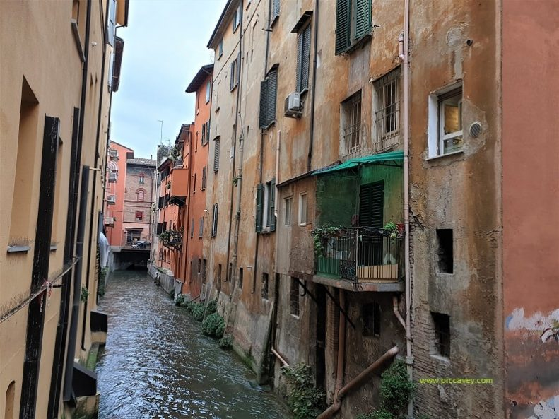 Canal in Bologna Italy