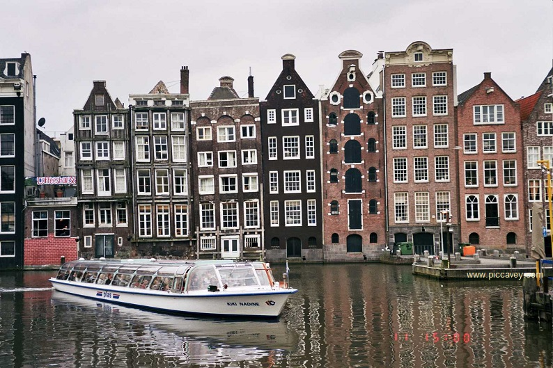 Canals of Amsterdam UNESCO Sites in Europe