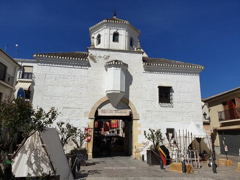 Capitulaciones de Santa Fe, Granada