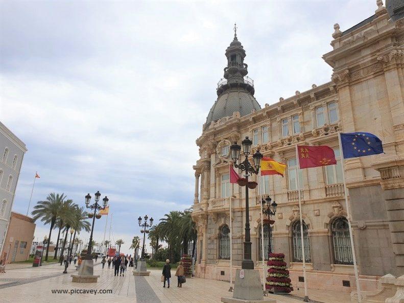 Cartagena Ayuntamiento Murcia Spain blog