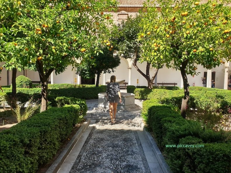 Cartuja Cloister Granada