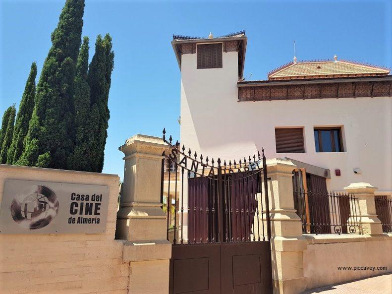Casa del Cine Almeria Cinema Museum Spain