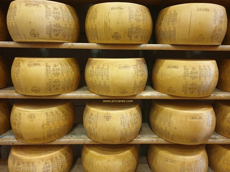 Cascina Dede Lodi Grana Padano Cheese.