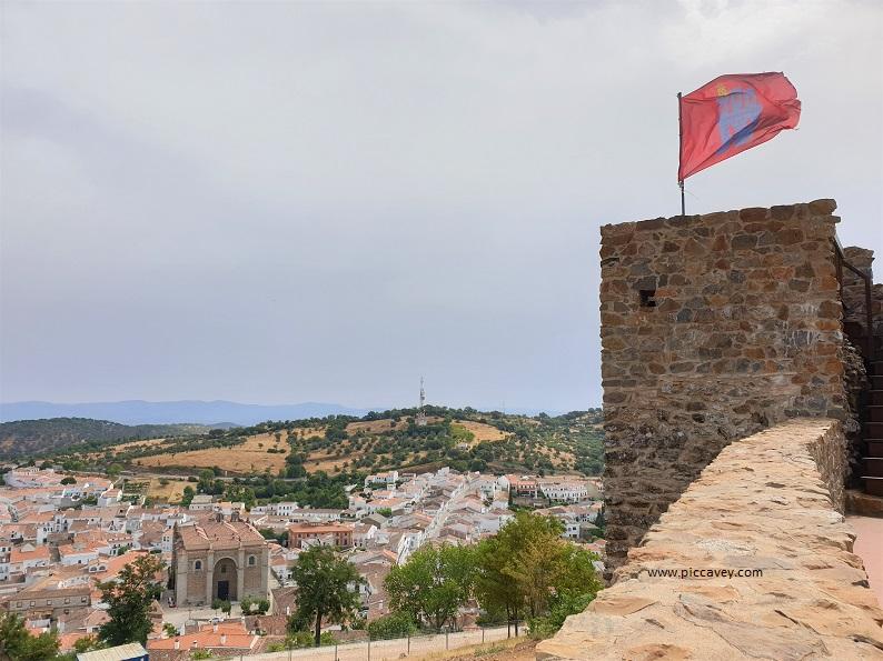 Castillo de Aracena Huelva