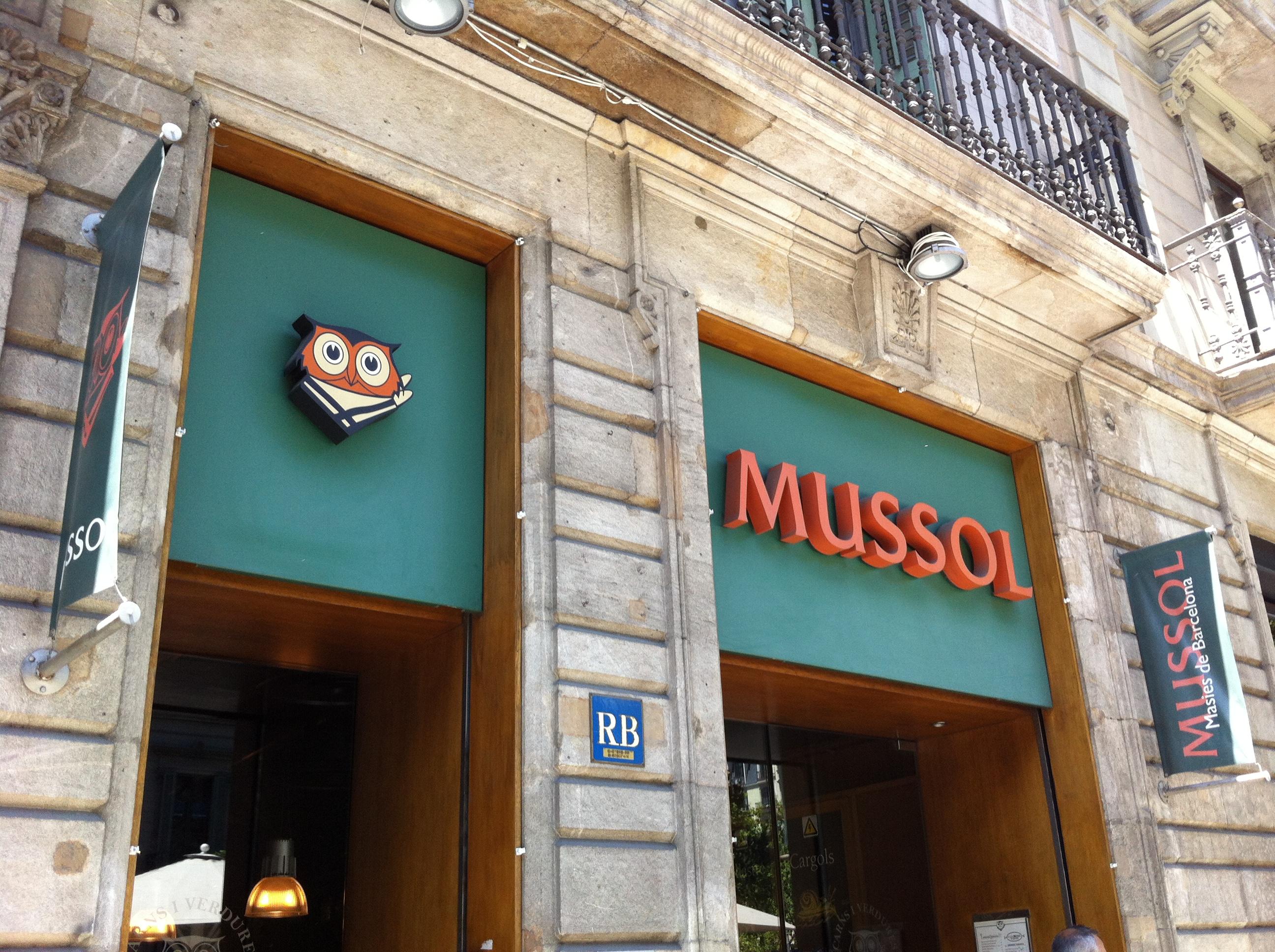 Catalan Cuisine Mussol