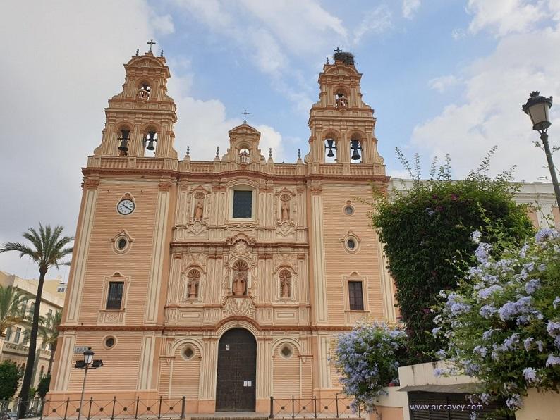 Cathedral in Huelva Spain