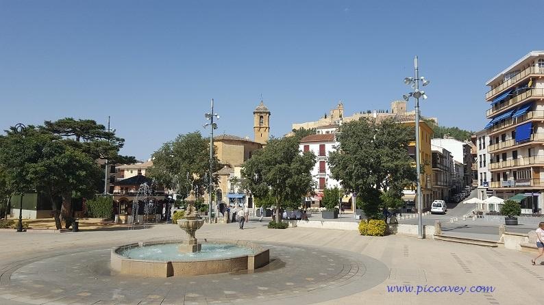 Centre of Alcala La Real