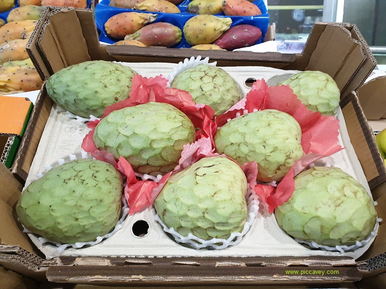 Chirimoya Custard Apple fruit Spanish Food Spain