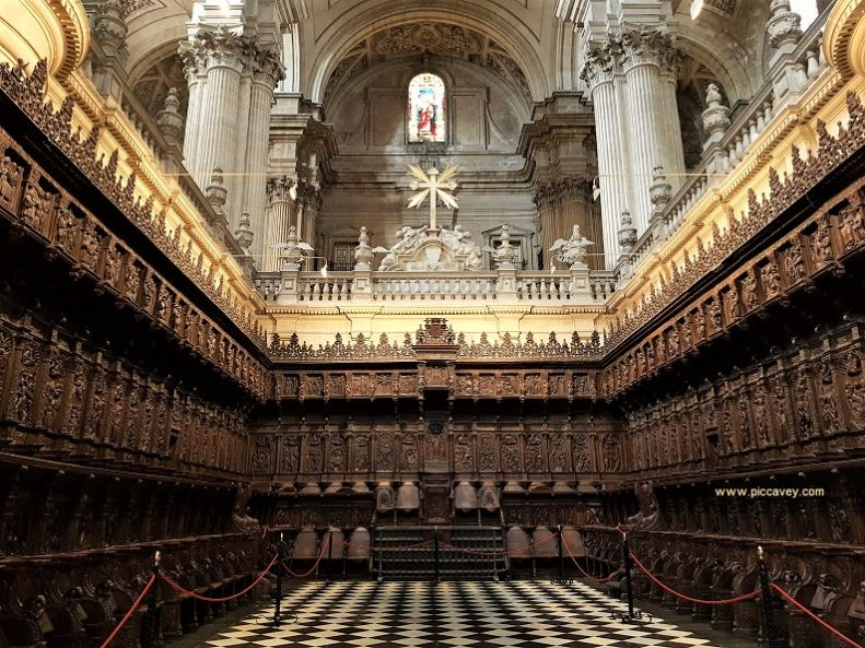 Choir Jaen Cathedral Spain by piccavey