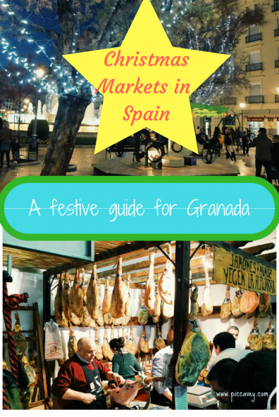 Christmas Market Granada in Spain