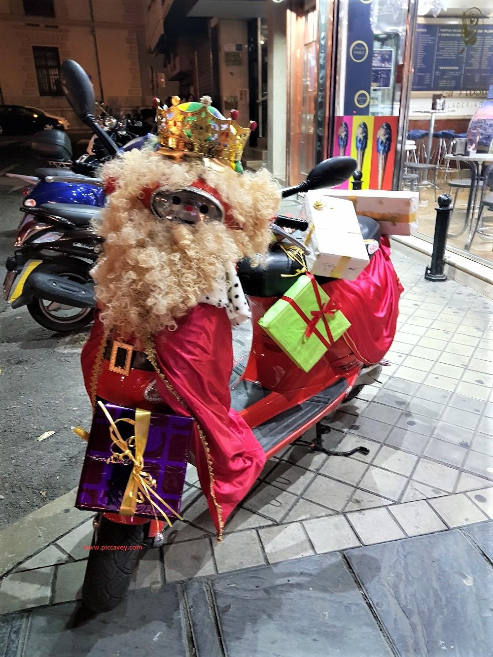 Christmas in Spain Reyes in Granada.