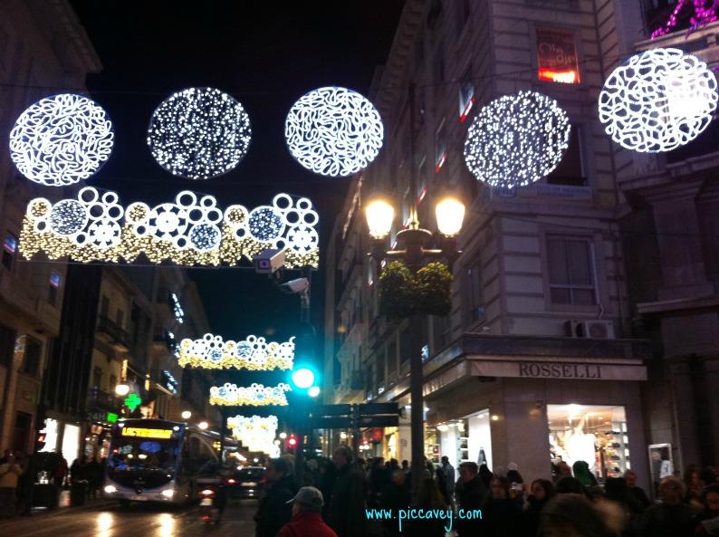 Granada Christmas Shopping