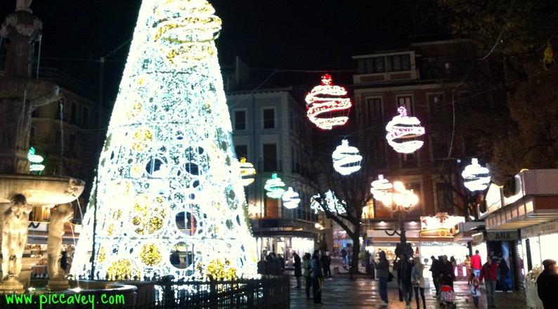 Christmas markets granada Bib Rambla