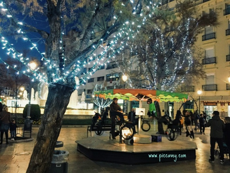 Christmas Markets Granada Spain