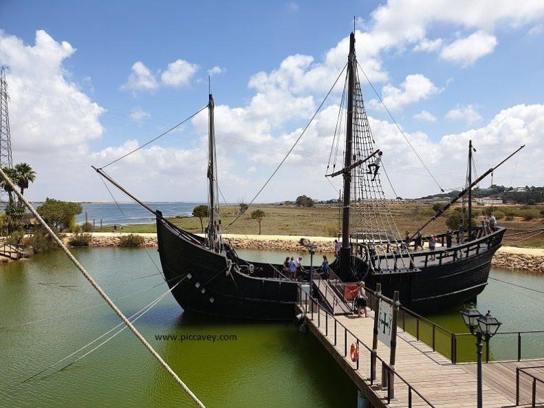 Christopher Columbus Ships Palos de la Frontera