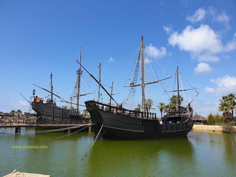 Christopher Columbus Ships Pinta Niña Santa Maria