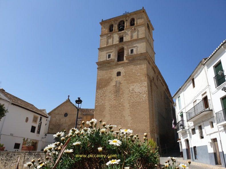 Church Tower in Alhama de Granada Andalucia