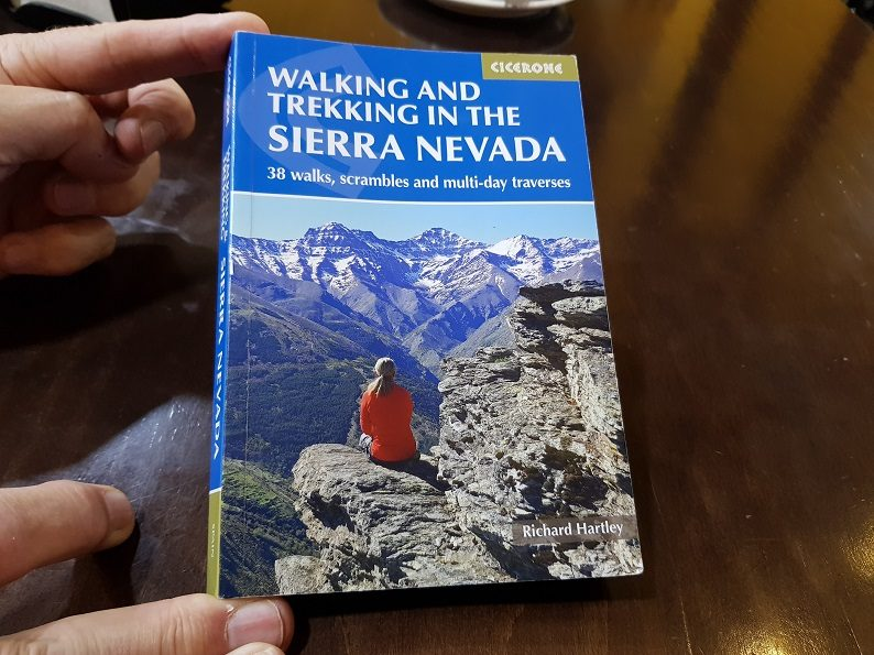 Cicerone Guidebook Walking Sierra Nevada Richard Hartley