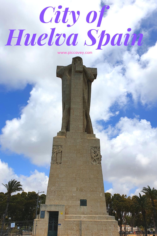Monument to Colombus Huelva
