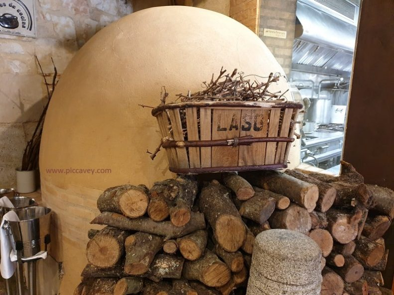 Clay Firewood Oven at Oroviejo