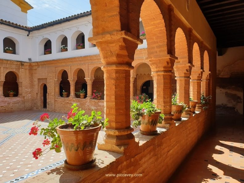 Cloister La Rabida Monastery Palos de la Frontera Huelva