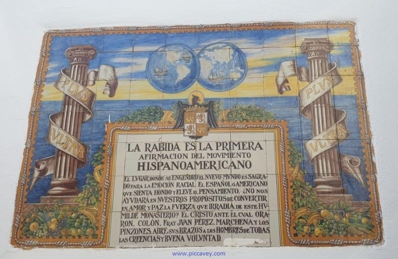 Columbus Plaque in La Rabita Huelva