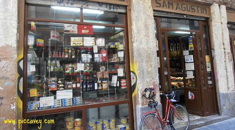 Spanish Food at Granada Market