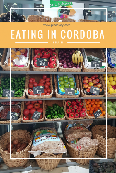 Cordoba Restaurants Local Food in Spain