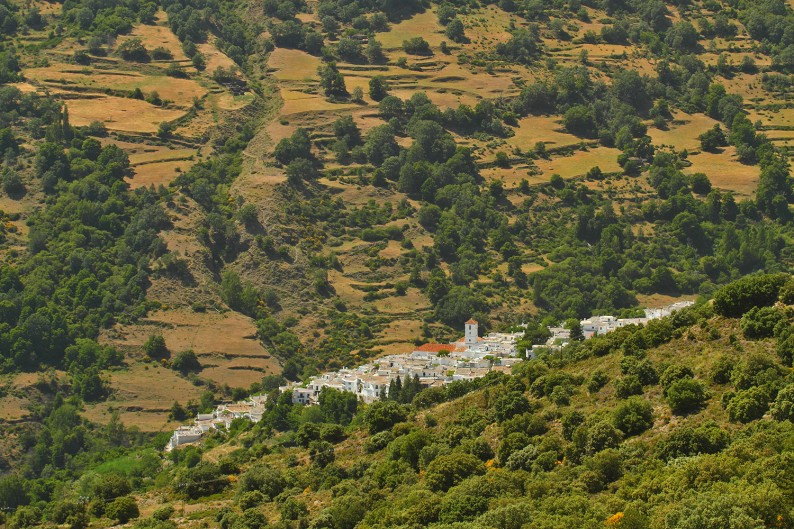 Poqueira Valley, Granada, Spain