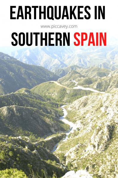 Earthquake in Andalusia Spain