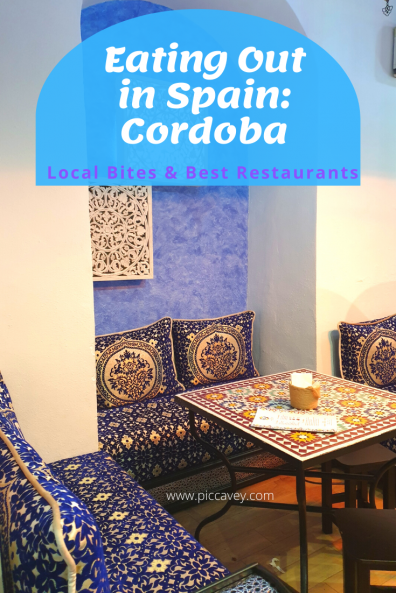 Eating Out in Cordoba Spain