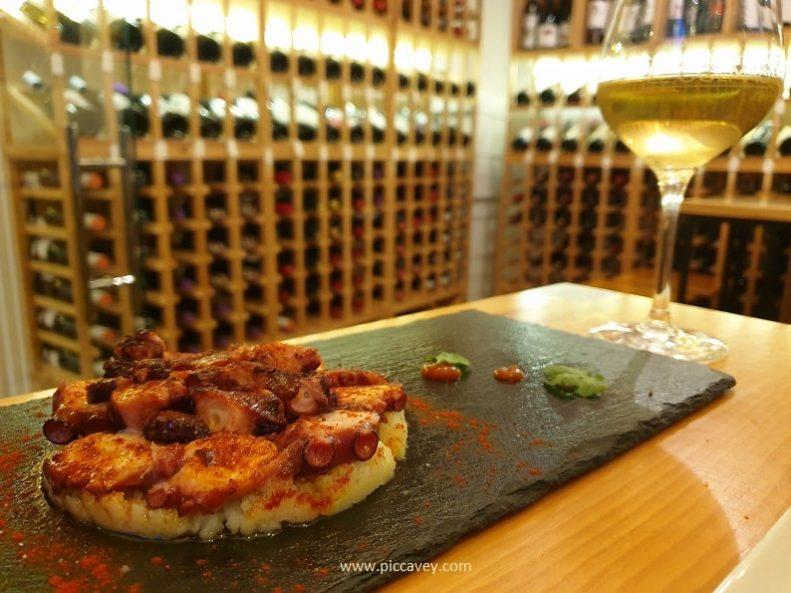 El Colmao Frigiliana Wine Bar Tapas in Spain
