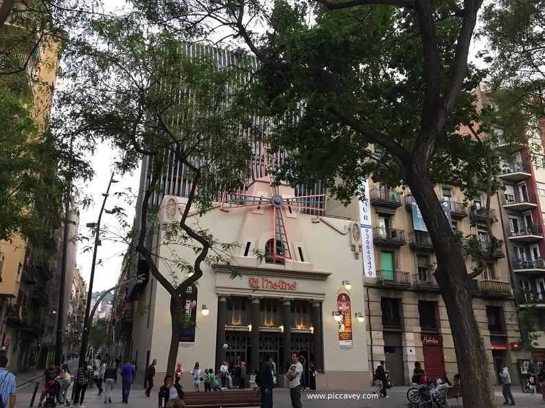 El Molino Theatre Barcelona Spain