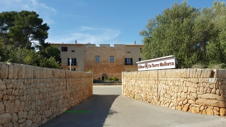 Entrance SaTorre mallorca