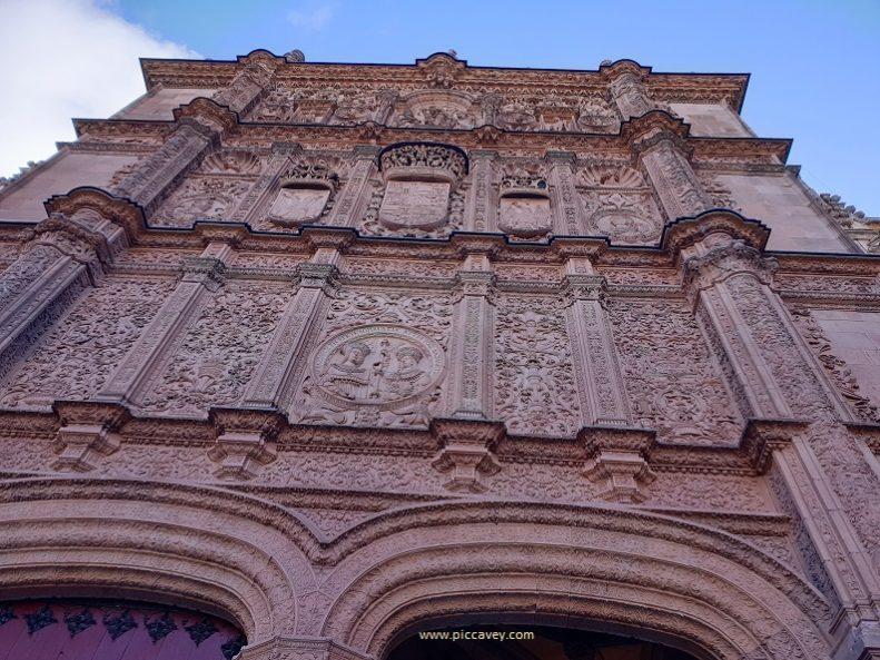 Entrance University of Salamanca