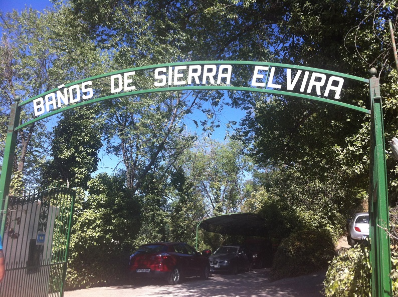 Entrance to Banos de Sierra Elvira