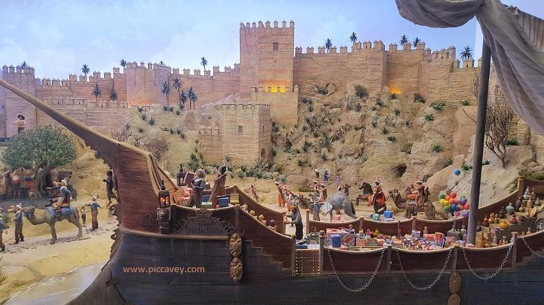 Epiphany in Malaga Three Kings Nativity in Spain