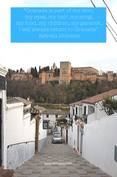 Estrella Morente Quote Granada