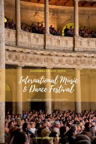 Dance festival FEX Granada Spain