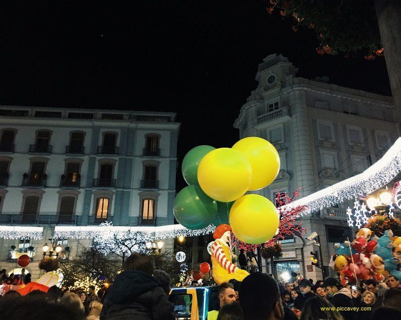 Festive Scene Christmas in Spain