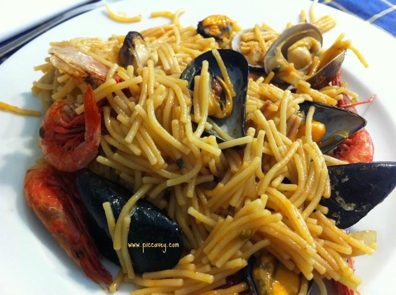 Fideua Spanish Food