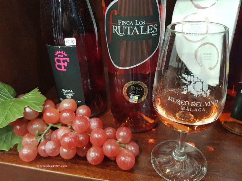 Finca Los Frutales Malaga Wine Rose