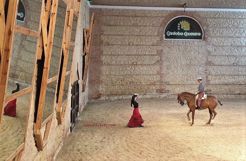 Flamenco at Royal Stables Cordoba Spain